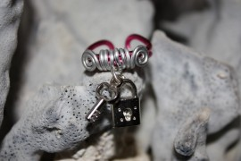 Anillo llave y candado